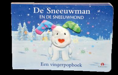 De Sneeuwman en de sneeuwhond - Een vingerpopboek 1
