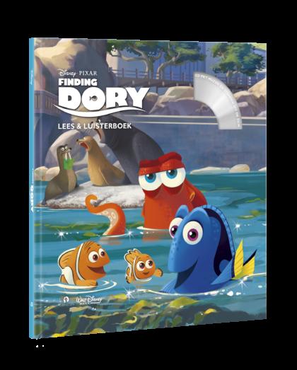 Disney Finding Dory Lees en Luisterboek