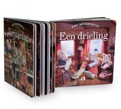 Muizenhuis blokboekjes - Een drieling & Verjaardag