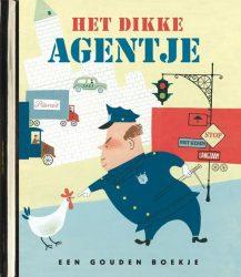 Het dikke agentje – luxe gouden boekje, original
