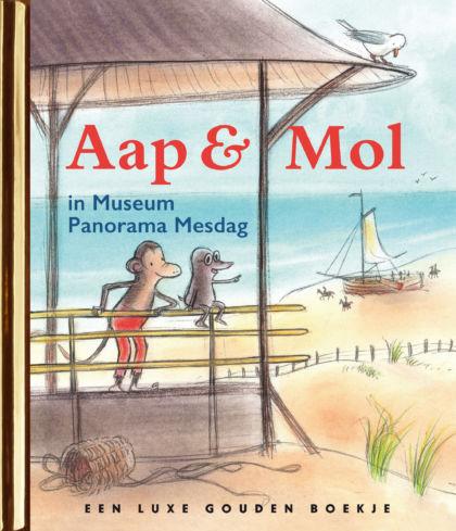 Aap en Mol in Museum Panorama Mesdag 3