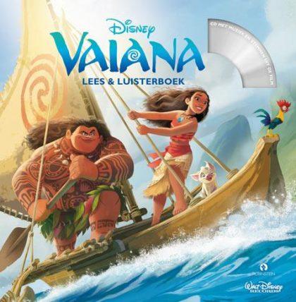 Disney Vaiana Lees en Luisterboek