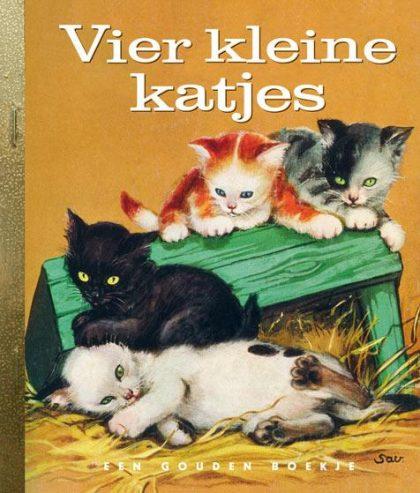 Vier kleine katjes