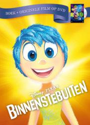 Disney Pixar Binnenstebuiten boek + originele film op DVD