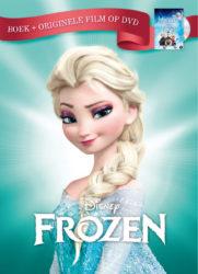 Frozen boek + originele film op DVD