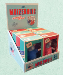 Muizenhuis display pluche