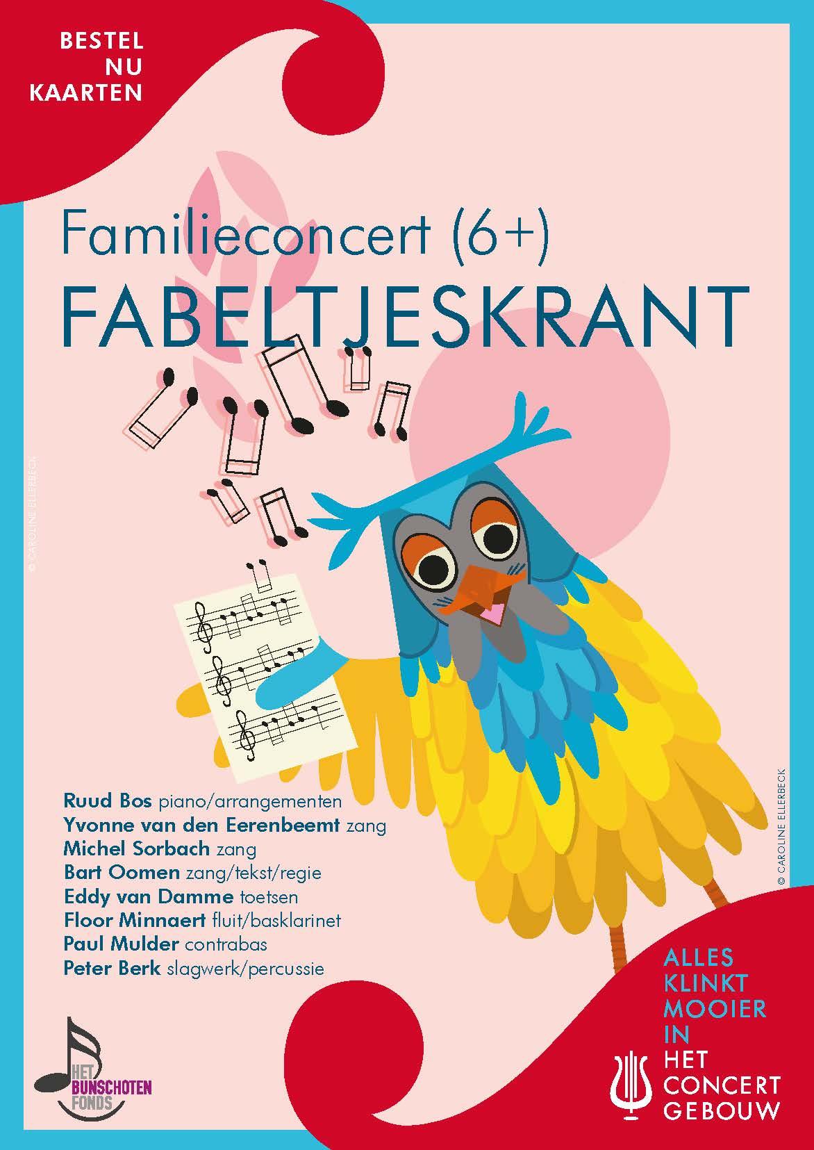 De grootste Fabeltjeskrant-hits in een grote meezingvoorstelling in het Concertgebouw